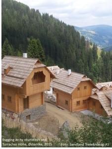 Ny turistby Turracher Höhe, 2015